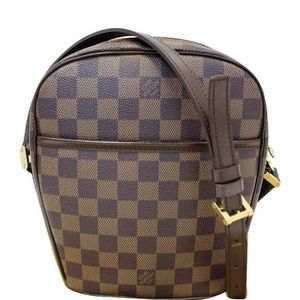LOUIS VUITTON Ipanema Damier Ebene Crossbody Bag
